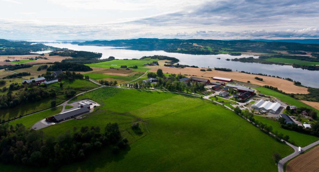 Photo: Camerat and Mære agricultural school.